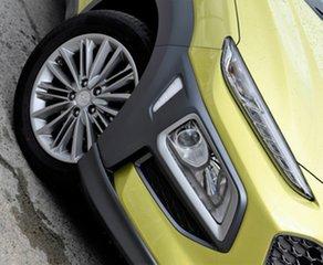 2019 Hyundai Kona OS.2 MY19 Elite D-CT AWD Acid Yellow 7 Speed Sports Automatic Dual Clutch Wagon.