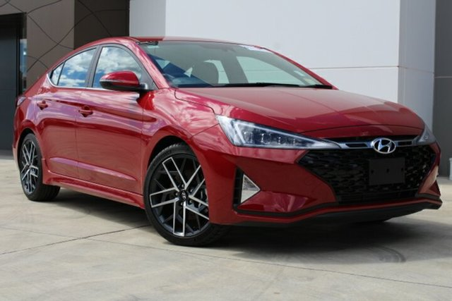 New Hyundai Elantra AD.2 MY19 Sport, 2019 Hyundai Elantra AD.2 MY19 Sport Fiery Red 6 Speed Manual Sedan