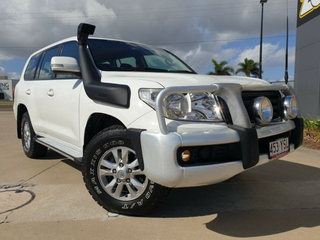 Used Toyota Landcruiser VDJ200R MY10 GXL, 2012 Toyota Landcruiser VDJ200R MY10 GXL White 6 Speed Sports Automatic Wagon