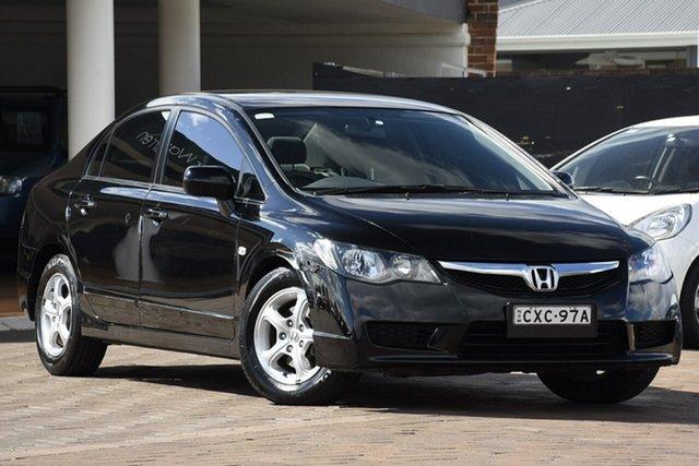 Used Honda Civic 8th Gen MY10 VTi, 2010 Honda Civic 8th Gen MY10 VTi Black 5 Speed Automatic Sedan