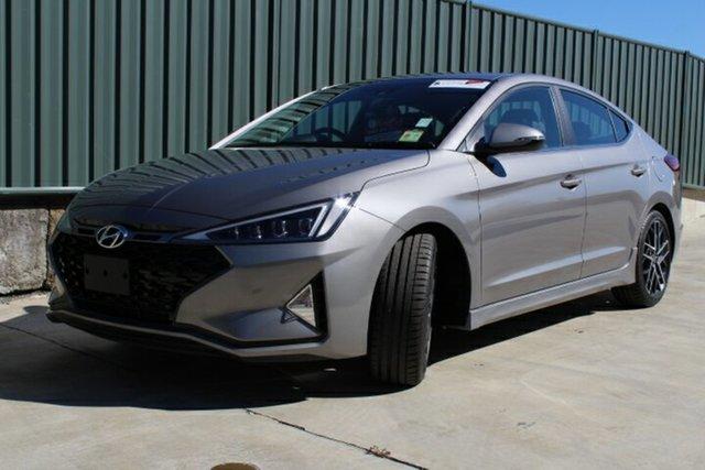 Demo Hyundai Elantra AD.2 MY19 Sport DCT, 2019 Hyundai Elantra AD.2 MY19 Sport DCT Fluidic Metal 7 Speed Sports Automatic Dual Clutch Sedan