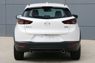 1220 Mazda CX-3 DK4W7A Akari SKYACTIV-Drive i-ACTIV AWD LE White 6 Speed Sports Automatic Wagon