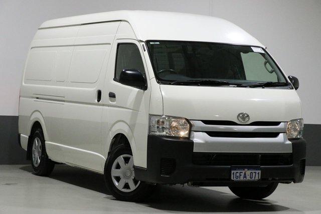 Used Toyota HiAce KDH221R MY16 SLWB, 2017 Toyota HiAce KDH221R MY16 SLWB White 4 Speed Automatic Van