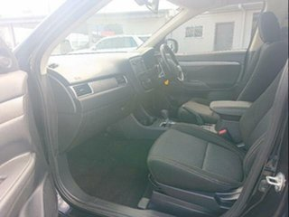 2015 Mitsubishi Outlander ZK MY16 XLS (4x4) Black 6 Speed Automatic Wagon