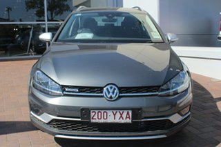 2018 Volkswagen Golf 7.5 MY19 Alltrack DSG 4MOTION 132TSI Indium Grey 6 Speed.