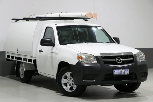 Used Mazda BT-50 09 Upgrade Boss B2500 DX, 2010 Mazda BT-50 09 Upgrade Boss B2500 DX White 5 Speed Manual Cab Chassis
