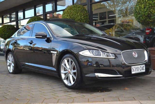 Used Jaguar XF X250 MY15 S Luxury, 2015 Jaguar XF X250 MY15 S Luxury Black 8 Speed Sports Automatic Sedan
