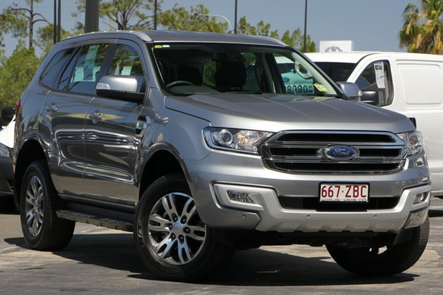 Used Ford Everest UA 2018.00MY Trend 4WD, 2018 Ford Everest UA 2018.00MY Trend 4WD Aluminium 6 Speed Sports Automatic Wagon