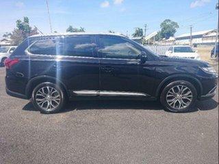 2015 Mitsubishi Outlander ZK MY16 XLS (4x4) Black 6 Speed Automatic Wagon.