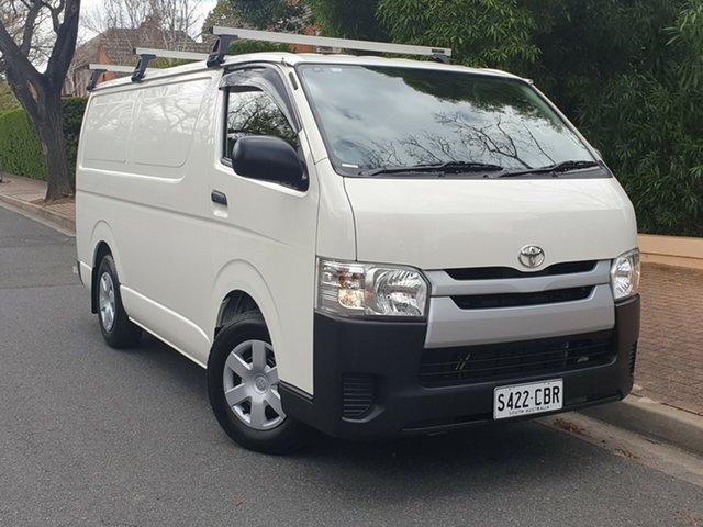 Used Toyota HiAce KDH201R LWB, 2016 Toyota HiAce KDH201R LWB White 5 Speed Manual Van