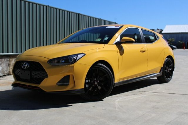 Demo Hyundai Veloster JS MY20 Turbo Coupe, 2019 Hyundai Veloster JS MY20 Turbo Coupe Thunder Bolt 6 Speed Manual Hatchback