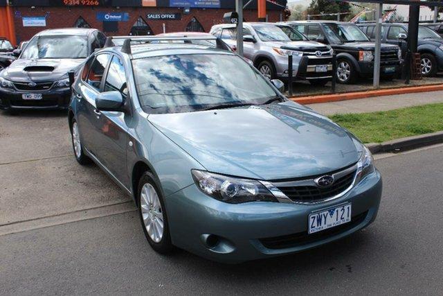 Used Subaru Impreza MY09 R (AWD), 2009 Subaru Impreza MY09 R (AWD) Green 4 Speed Automatic Hatchback