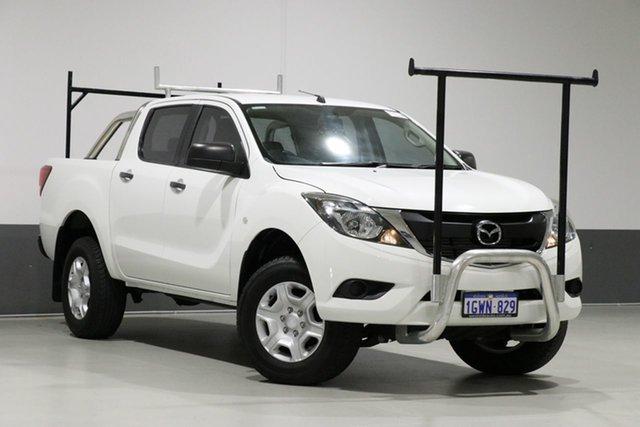 Used Mazda BT-50 MY16 XT Hi-Rider (4x2), 2016 Mazda BT-50 MY16 XT Hi-Rider (4x2) White 6 Speed Automatic Dual Cab Utility