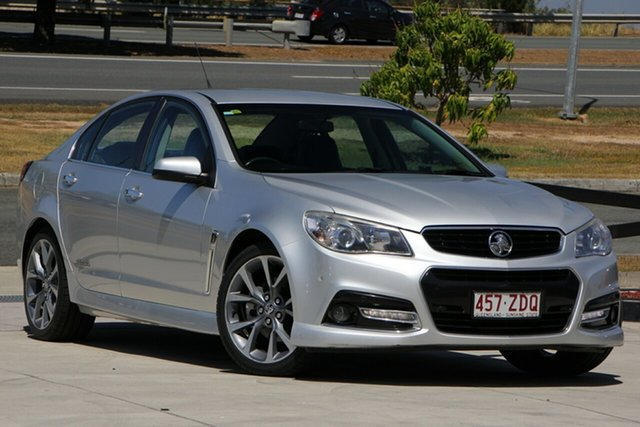 Used Holden Commodore VF MY14 SS V, 2013 Holden Commodore VF MY14 SS V Silver 6 Speed Manual Sedan