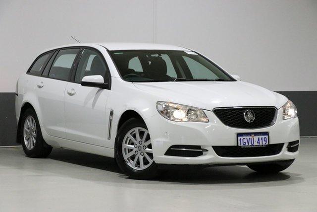 Used Holden Commodore VF Evoke (LPG), 2014 Holden Commodore VF Evoke (LPG) White 6 Speed Automatic Sportswagon