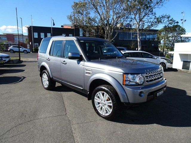Used Land Rover Discovery 4  TDV6, 2013 Land Rover Discovery 4 SERIES 4 L319 M TDV6 Grey 8 Speed Sports Automatic Wagon