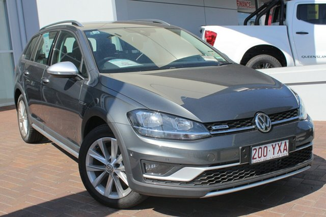 Demo Volkswagen Golf 7.5 MY19 Alltrack DSG 4MOTION 132TSI, 2018 Volkswagen Golf 7.5 MY19 Alltrack DSG 4MOTION 132TSI Indium Grey 6 Speed