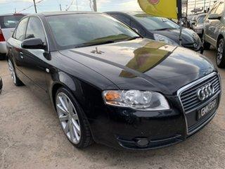 2006 Audi A4 B7 Multitronic Black 7 Speed Constant Variable Sedan.
