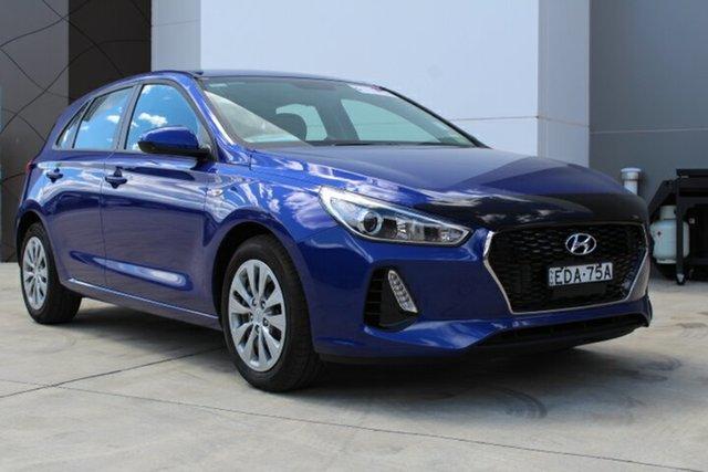 Demo Hyundai i30 PD MY19 Go, 2019 Hyundai i30 PD MY19 Go Intense Blue 6 Speed Sports Automatic Hatchback