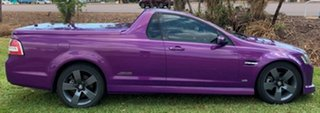 2008 Holden Ute VE SS V Purple 6 Speed Sports Automatic Utility.