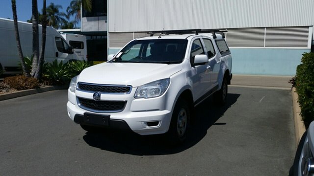 Used Holden Colorado RG MY15 LS Crew Cab 4x2, 2015 Holden Colorado RG MY15 LS Crew Cab 4x2 White 6 Speed Sports Automatic Utility