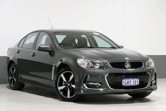 Used Holden Commodore VF II MY17 SV6, 2017 Holden Commodore VF II MY17 SV6 Grey 6 Speed Automatic Sedan