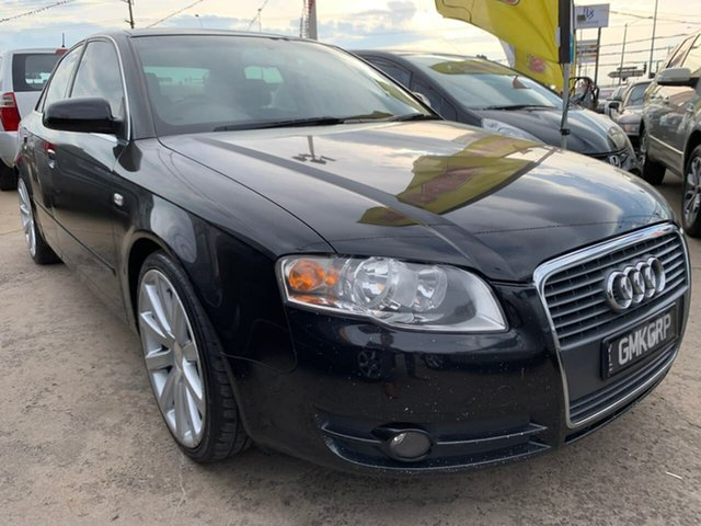Used Audi A4 B7 Multitronic, 2006 Audi A4 B7 Multitronic Black 7 Speed Constant Variable Sedan