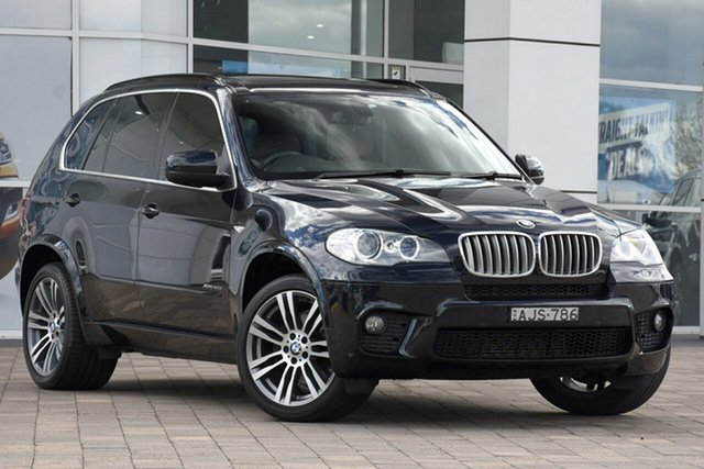 Used BMW X5 E70 MY1112 xDrive40d Steptronic Sport, 2013 BMW X5 E70 MY1112 xDrive40d Steptronic Sport Black 8 Speed Sports Automatic SUV