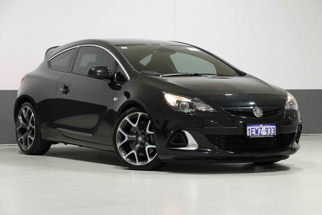 Used Holden Astra PJ MY16 VXR, 2015 Holden Astra PJ MY16 VXR Black 6 Speed Manual Hatchback