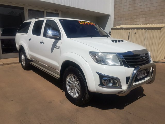 Used Toyota Hilux KUN26R MY12 SR5 (4x4), 2013 Toyota Hilux KUN26R MY12 SR5 (4x4) 4 Speed Automatic Dual Cab Pick-up