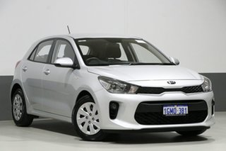 2018 Kia Rio YB MY18 S Silver 4 Speed Automatic Hatchback.