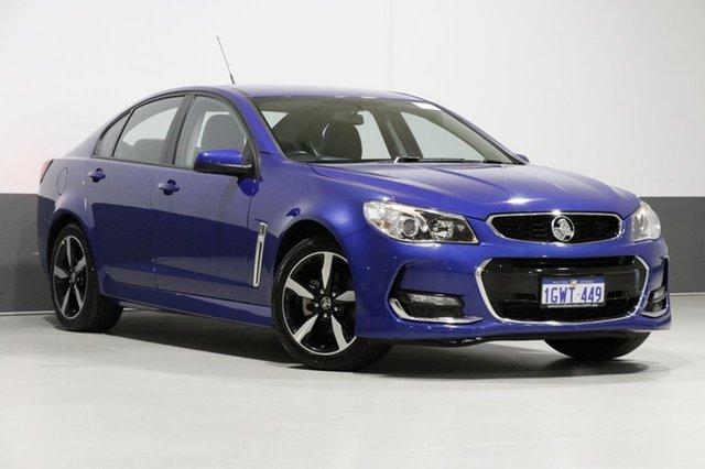 Used Holden Commodore VF II MY17 SV6, 2017 Holden Commodore VF II MY17 SV6 Blue 6 Speed Automatic Sedan