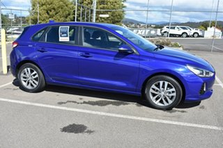 2018 Hyundai i30 PD2 MY18 Active Intense Blue 6 Speed Sports Automatic Hatchback