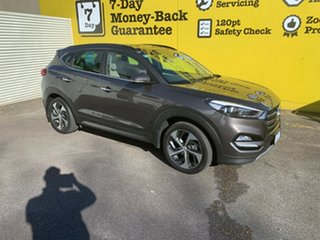 2017 Hyundai Tucson TLe MY17 Highlander D-CT AWD Arabica Brown 7 Speed Sports Automatic Dual Clutch