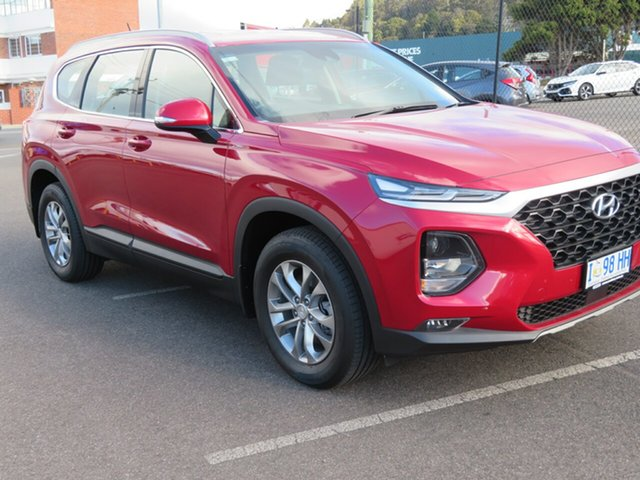 Demo Hyundai Santa Fe DM5 MY18 Active, 2018 Hyundai Santa Fe DM5 MY18 Active Horizon Red 6 Speed Sports Automatic Wagon