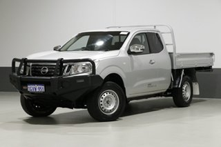 2016 Nissan Navara NP300 D23 RX (4x4) Silver 6 Speed Manual King Cab Chassis.