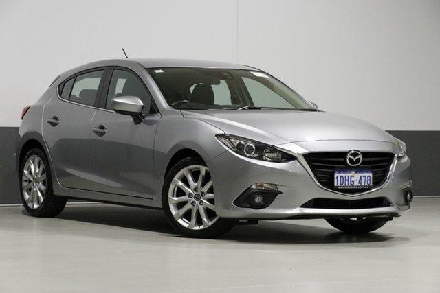 Used Mazda 3 BM SP25, 2014 Mazda 3 BM SP25 Silver 6 Speed Automatic Hatchback