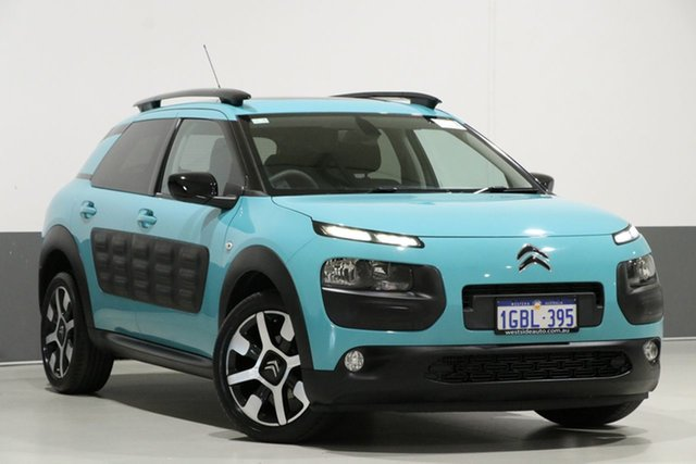 Used Citroen C4 Cactus MY16 Exclusive 1.2I Puretech, 2016 Citroen C4 Cactus MY16 Exclusive 1.2I Puretech Blue Lagoon 5 Speed Manual Wagon