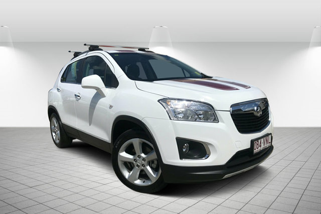 Used Holden Trax TJ MY14 LTZ, 2014 Holden Trax TJ MY14 LTZ White 6 Speed Automatic Wagon