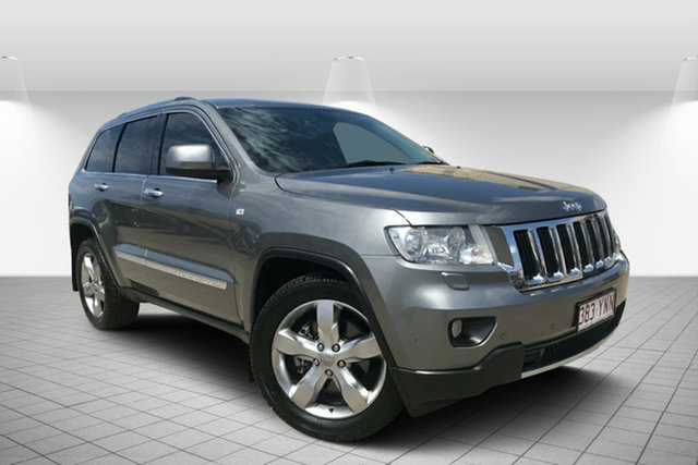 Used Jeep Grand Cherokee WK MY2013 Limited, 2012 Jeep Grand Cherokee WK MY2013 Limited Grey 5 Speed Sports Automatic Wagon