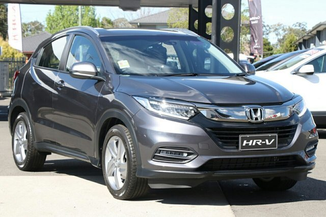 New Honda HR-V MY20 VTi-S, 2020 Honda HR-V MY20 VTi-S Modern Steel 1 Speed Constant Variable Hatchback