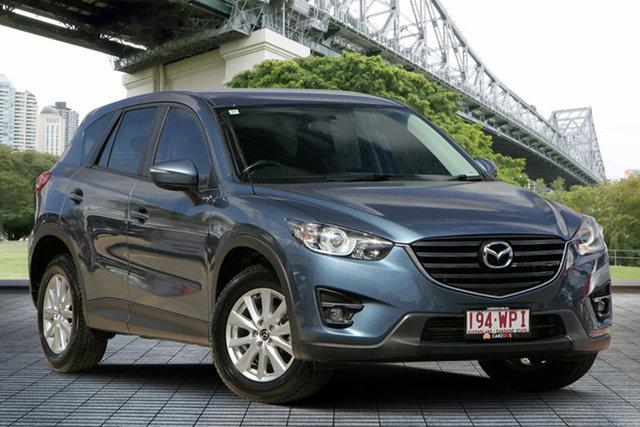 Used Mazda CX-5 KE1022 Maxx SKYACTIV-Drive i-ACTIV AWD Sport, 2016 Mazda CX-5 KE1022 Maxx SKYACTIV-Drive i-ACTIV AWD Sport Blue 6 Speed Sports Automatic Wagon