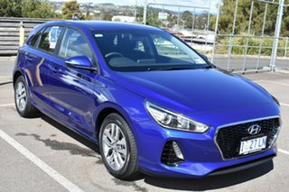 2018 Hyundai i30 PD2 MY18 Active Intense Blue 6 Speed Sports Automatic Hatchback.