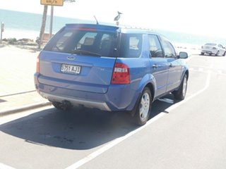 2004 Ford Territory SX TS Blue 4 Speed Sports Automatic Wagon