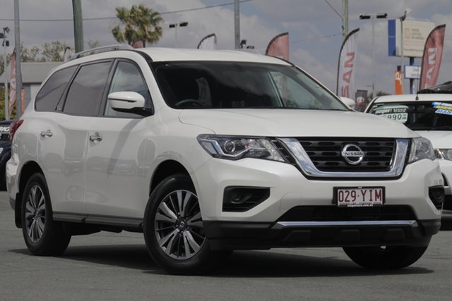 Used Nissan Pathfinder R52 Series II MY17 ST X-tronic 2WD, 2017 Nissan Pathfinder R52 Series II MY17 ST X-tronic 2WD Ivory Pearl 1 Speed Constant Variable