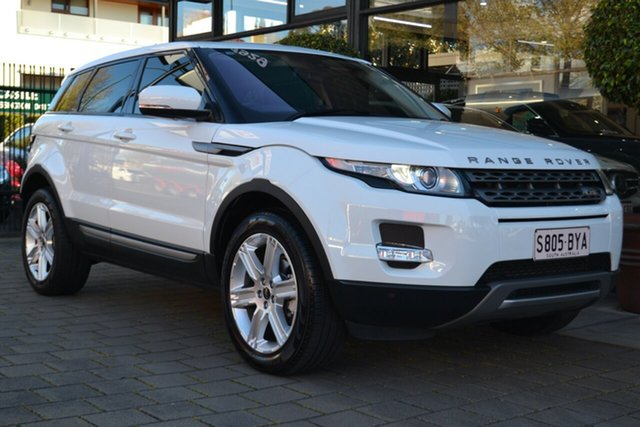 Used Land Rover Range Rover Evoque L538 MY13.5 TD4 CommandShift Pure, 2013 Land Rover Range Rover Evoque L538 MY13.5 TD4 CommandShift Pure White 6 Speed Sports Automatic