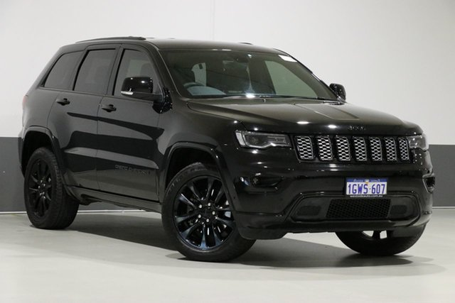 Used Jeep Grand Cherokee WK MY17 Blackhawk (4x4), 2017 Jeep Grand Cherokee WK MY17 Blackhawk (4x4) Black 8 Speed Automatic Wagon