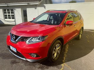 2016 Nissan X-Trail T32 Ti X-tronic 4WD Burning Red 7 Speed Constant Variable Wagon