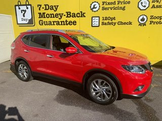 2016 Nissan X-Trail T32 Ti X-tronic 4WD Burning Red 7 Speed Constant Variable Wagon.