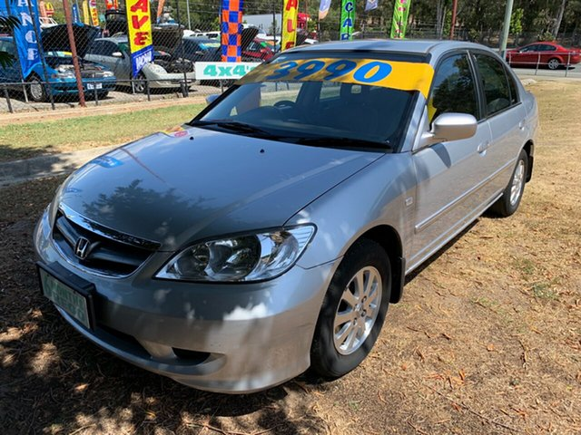 Used Honda Civic 7th Gen GLi, 2005 Honda Civic 7th Gen GLi Silver 5 Speed Manual Sedan